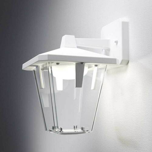 Osram LED Wandleuchte Außen Endura Style Lantern Classic Down weiß 10W warmweiß