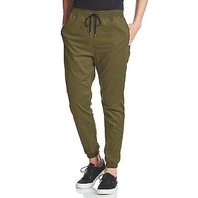 NWT Hurley Men's Dri-Fit Hideaway Jogger Pants Size XL Olive Green