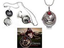 Vampire Diaries Collier Elena pendentif offert par Stefan VD elena's pendant