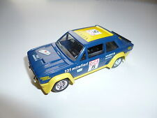 FIAT 131 MIRAFIORI ABARTH RALLY RALLYE DU MAROC #5, solido in 1:43, 9,8 cm long!