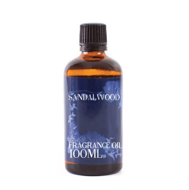 Mystic Moments Sandalwood Fragrance Oil - 100ml (FO100SAND)
