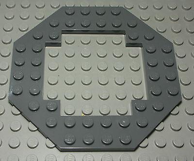 3709 Lego 6x Loch Platte 2x4 in neu dunkel grau