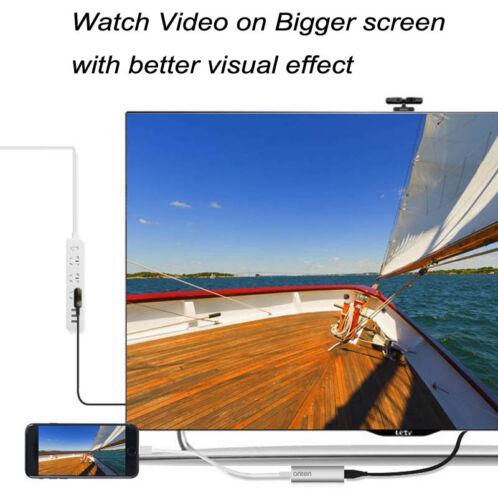 Digital AV Adapter Phone to HDMI TV VGA HDTV for iPad iPhone X 7 8 Plus Android