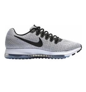 timeless design be957 f39ac Womens NIKE ZOOM ALL OUT LOW White Black Running Trainers 889122 100 ...