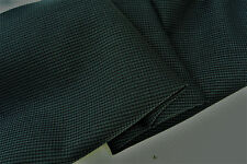 E18 ROYAL BLUE DELUXE 150's SUPER FINE PURE WOOL BLEND MICRO CHECK MADE IN ITALY