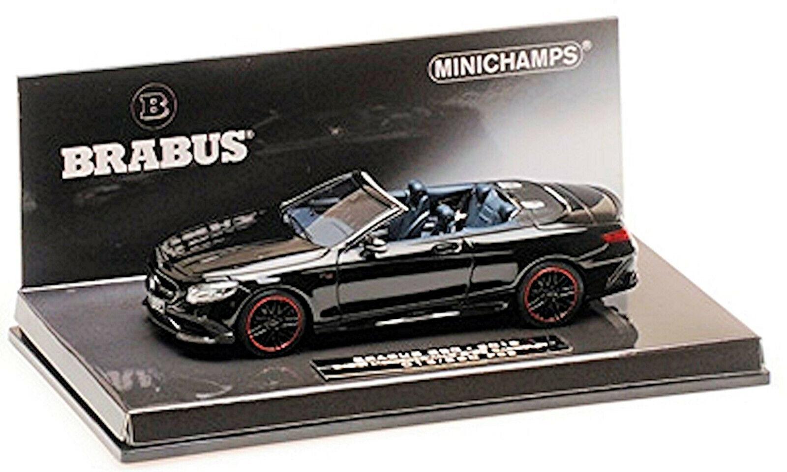 Brabus 850 Mercedes AMG s 63 2016 l.e.360 PCs negro negro 1 43 Minichamps