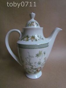 ROYAL DOULTON TONKIN SMALL COFFEE POT  FIRST QUALITY  MINT amp UNUSED Ref1259 - <span itemprop=availableAtOrFrom>Sidmouth, United Kingdom</span> - Please note that returns are subject to a 10% restocking charge. Most purchases from business sellers are protected by the Consumer Contract Regulations 2013 which give you the right to  - Sidmouth, United Kingdom