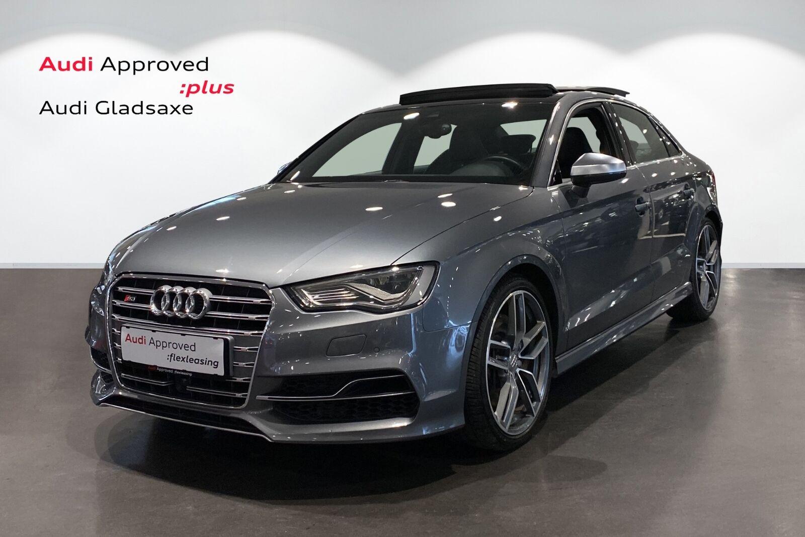 Audi S3 2,0 TFSi quattro S-tr. 4d - 1.930 kr.