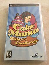 Cake Mania: Baker's Challenge (Sony PSP, 2008) PSP NEW