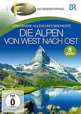 DVD Die Alpen von West nach Ost von Br Fernweh 5DVDs der Reiseführer auf DVD
