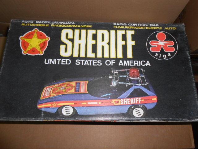 ELLEGI SIGE SHERIFFS CAR ALFA ROMEO ALFASUD CAIMANO Radio Control RADIOCOMANDATA