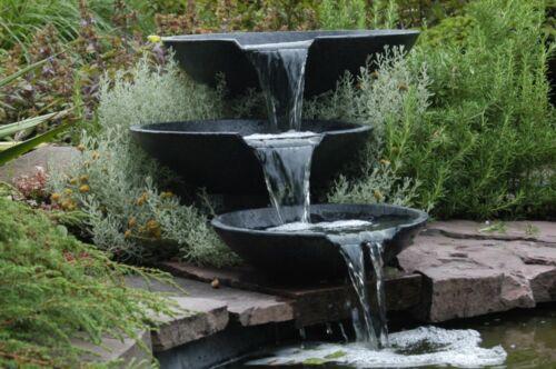 Ubbink Wasserfallschale Nova Scotia mit Pumpe und Anschluss  NEUWARE