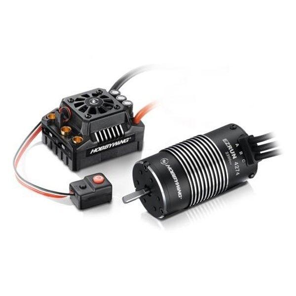 HobbyWing XeRun XR8 Plus & XeRun 4268SD G2 2250Kv Motor Combo HW38020407