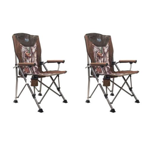 2 Pack Camo Timber Ridge Indoor Outdoor Folding Beach Camping Lounge Chair