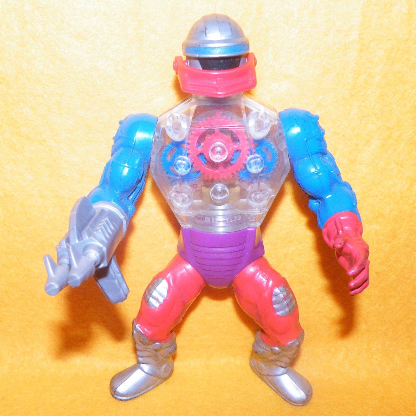 Vintage Vintage Vintage 1984 Mattel Amos del universo He-man Amos del universo ROBOTO figura + Arma  marca en liquidación de venta