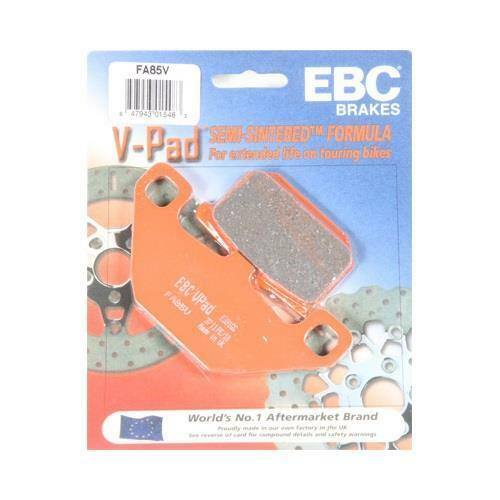 EBC V Front Brake Pads for Kawasaki 1986-06 VN750 Vulcan 95-05 VN800A1-A11 FA85V
