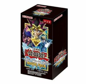 YUGIOH-CARDS-THE-DARKSIDE-OF-DIMENSIONS-Movie-Pack-Booster-Box-Korean-Ver