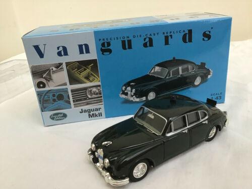 Vanguards 1//43 VA08400 Jaguar MKII SOMERSET CONSTABULARY