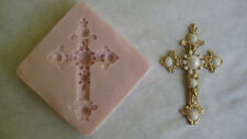 Edwardian Cross Silicone Mold for Cake Decorating, Chocolate, Fondant