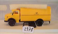 Brekina 1/87 4704 MERCEDES BENZ 322 autocarri VALIGIA Deutsche Bundespost 2 OVP #2978