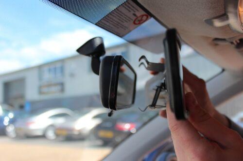 Vue arrière panoramique Miroir Grand Angle Voiture Van Taxi 430 mm Grande Taille Facile Fixation