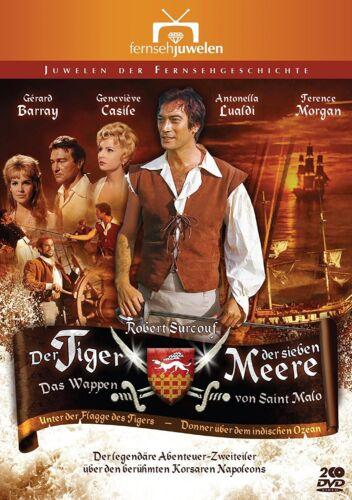 1 von 1 - Der Tiger der 7 sieben Meere - Das Wappen von Saint Malo - Filmjuwelen DVD