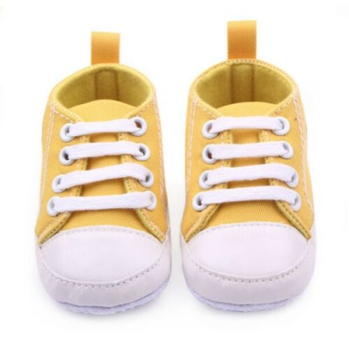 Newborn Baby Infant Soft Sole Crib Shoes Anti-Slip Toddler Boy Girl Shoes Lovely