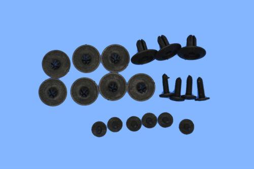 Peugeot Kunststoff schwarz Nieten Trimmen Panel Halter Verschluss Klemme