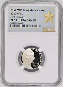 2020-FIRST-W-MINT-PROOF-NICKEL-NGC-PF69-ULTRA-CAMEO-FIRST-RELEASES-STAR-LABEL