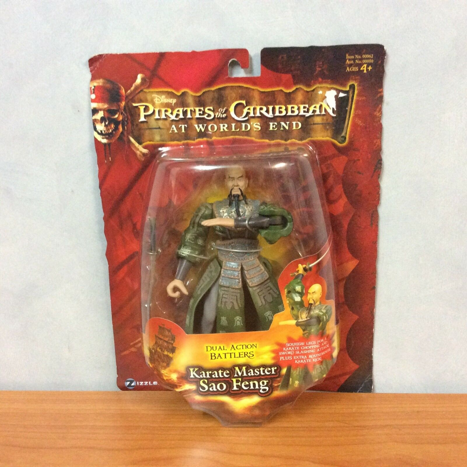 Pirates of the Caribbean at World's End - Karate Master Sao Feng - BNIB