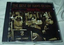 The Best of HANS OLSON Volume One CD Sun Club Blues Rock Folk Guitar
