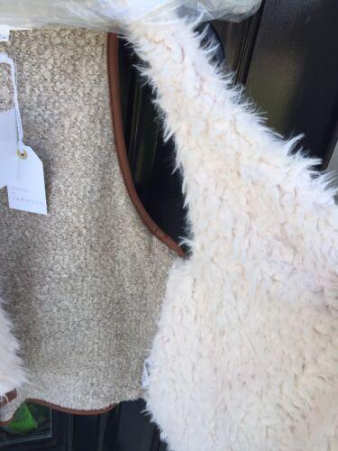 Nouvelles Taille douce fourrure Gilet super Jameson Coco Large fausse balises avec UT4wxf6q