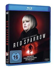 Red-Sparrow-Blu-ray-NEU-OVP-Buchvorlage-Jason-Matthews-mit-Jennifer-Lawrence