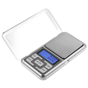 Mini Portable Jewelry Scale Precision LCD Electronic Digital Pocket Scale