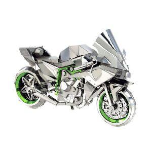 Metal earth h2r kawasaki ninja 3d laser cut diy model motorcycle image is loading metal earth h2r kawasaki ninja 3d laser cut solutioingenieria Images