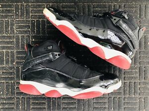 sports shoes 6cb64 be14d Details about Air Jordan Six 6 Rings Bred Black Red Size 8.5 Rare 322992 071