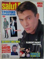 Revue Salut ! Juin 1988 Florent Pagny David Hallyday Niagara