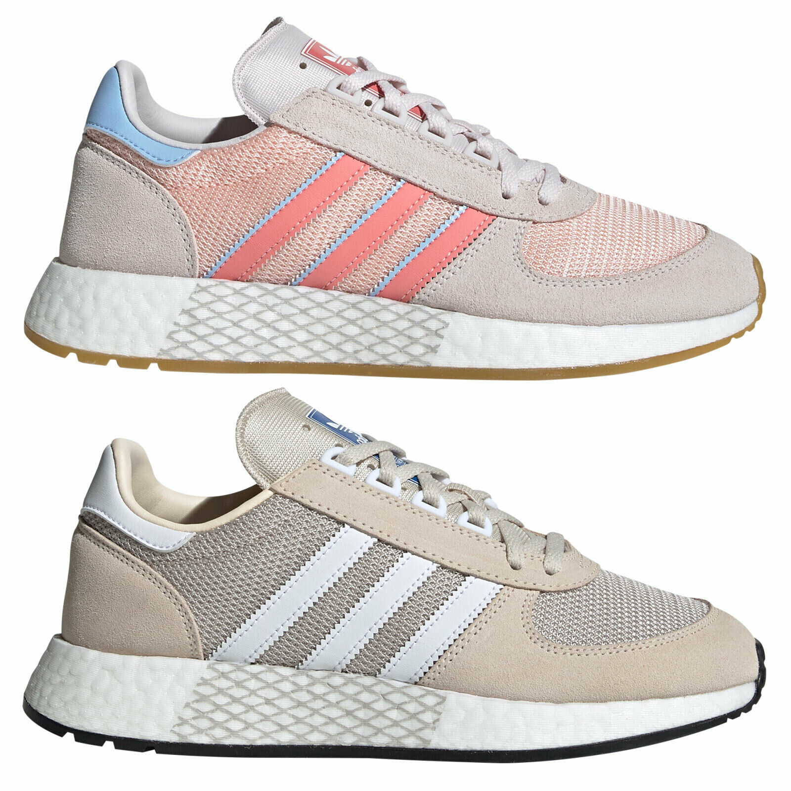 adidas Originals Marathon Tech Damen Turnschuhe Schuhe Turnschuhe Sportschuhe Retro