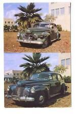Miami FL Johnnie & Mack Auto Body Work Painting Postcard