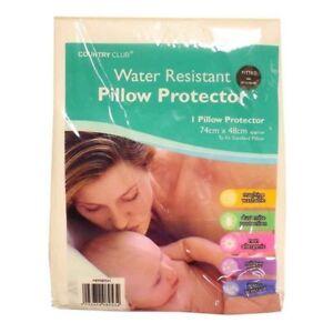2-x-Resistant-a-L-039-Eau-Oreiller-Protecteurs-Zippe-acariens-preuve-hypoallergenique-NEUF