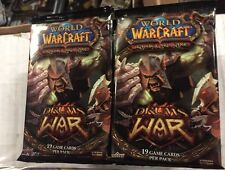 World Of Warcraft Drums Of War 24-count Booster Box LOT For WoW TCG