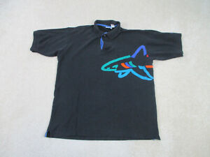 VINTAGE Reebok Greg Norman Polo Shirt Adult Large Golf Golfer Shark Mens 90s*