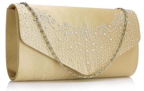 Large Envelope Clutch Bags Womens Long Handbag Ladies Shoulder Flap Purse New