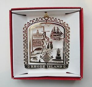 Rhode-Island-Brass-Ornament-Travel-Souvenir-Gift-Newport-Providence-Pawtucket