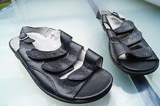 Waldläufer Damen Comfort Sommer Schuhe Sandalen Klett Einlagen Gr.8 H 42 Neu +6