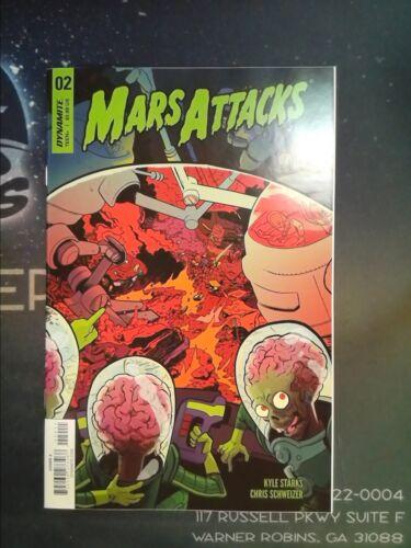 Mars Attacks #2 Dynamite VF//NM 9.0 CB3261
