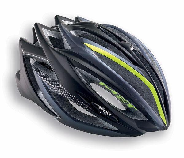Casco Bici MET Inspiración de Mod. negro   antracita verde HELMET MET ESTRO