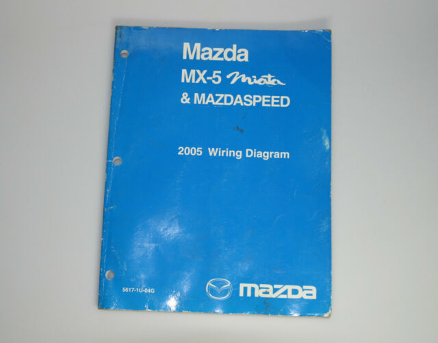 2005 Mazda Miata Mx5 And Mazdaspeed Electrical Wiring