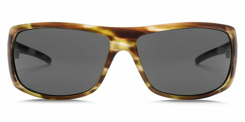 OHM Grey Sunglasses Electric Visual Sixer Matte Olive Tortoise