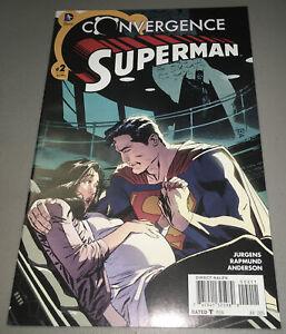 Convergence Superman #2 DC 1st App Appearance Jonathan Kent